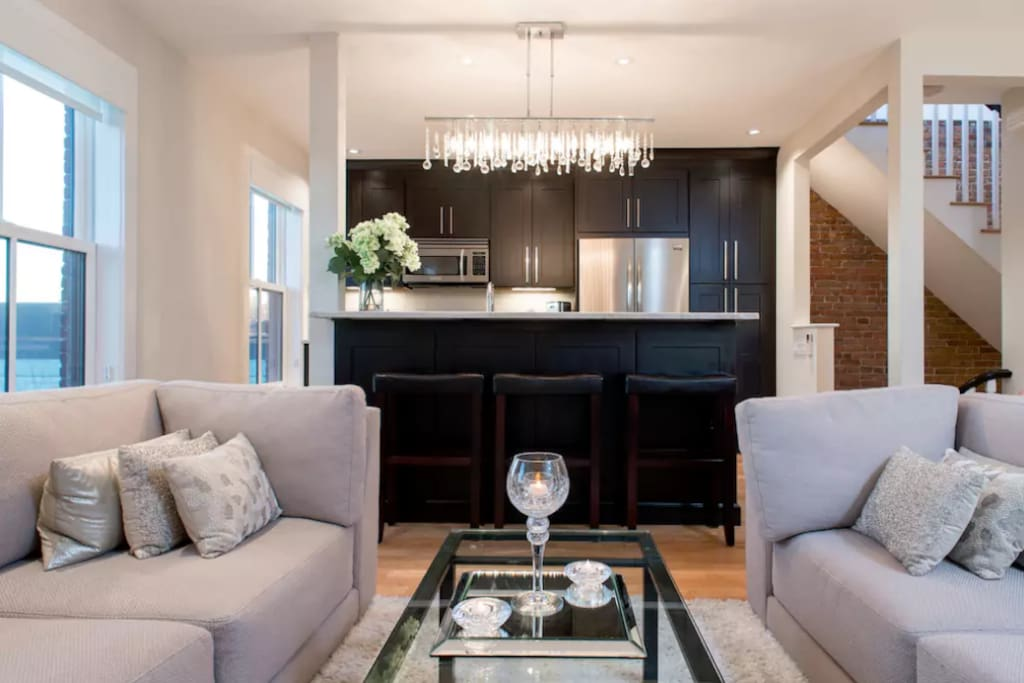 Open layout kitchen liv no area - penthouse