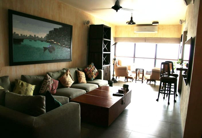 Charming sea view home in Colaba - Mumbai - Flat