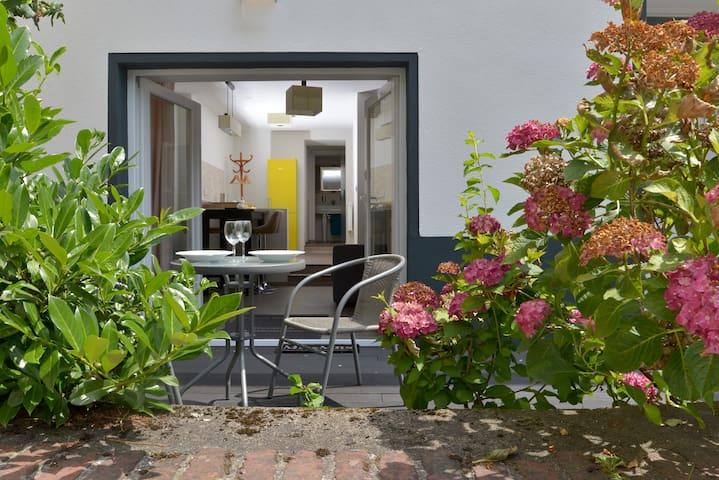 Appartement Deluxe mit Holzterasse und Burgblick - Cochem
