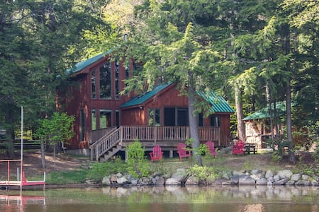 Lakefront Cabin with Sauna, Boats, GREAT View! - Wells - Chatka