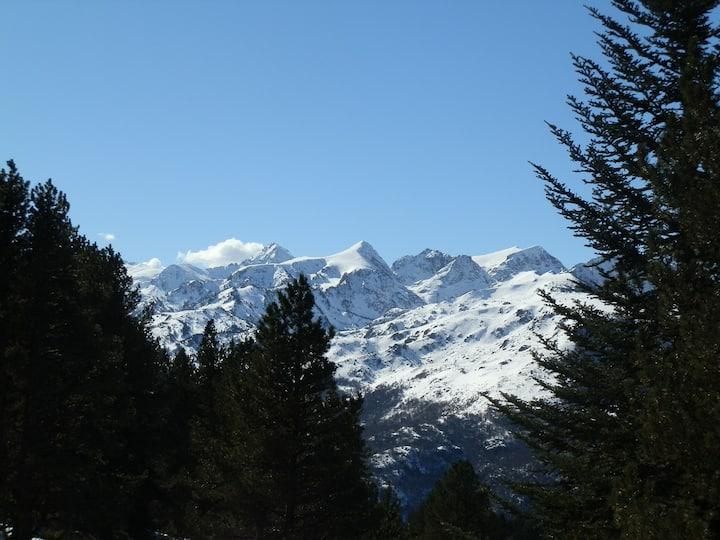 Gîte 2 personnes indépendant au pied des montagnes
