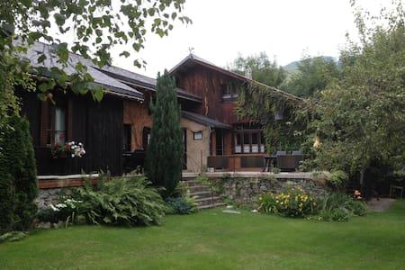 Gîte de Montagne au cœur des Pyrénées - Garin - Hytte (i sveitsisk stil)