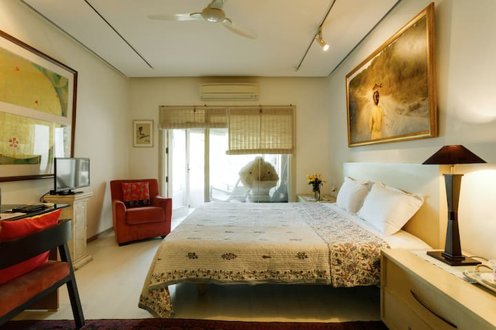 Big Room 2 Close to the airport - New Delhi - Appartement