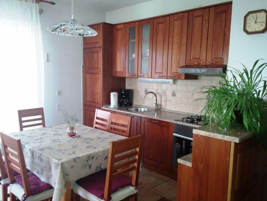 Kitchen, apartment 2