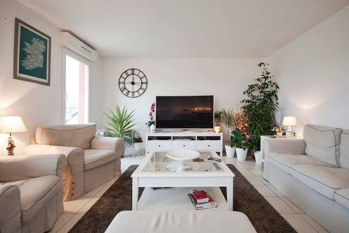 Chambre indépendante & confortable en centre ville - Évreux - Apartment