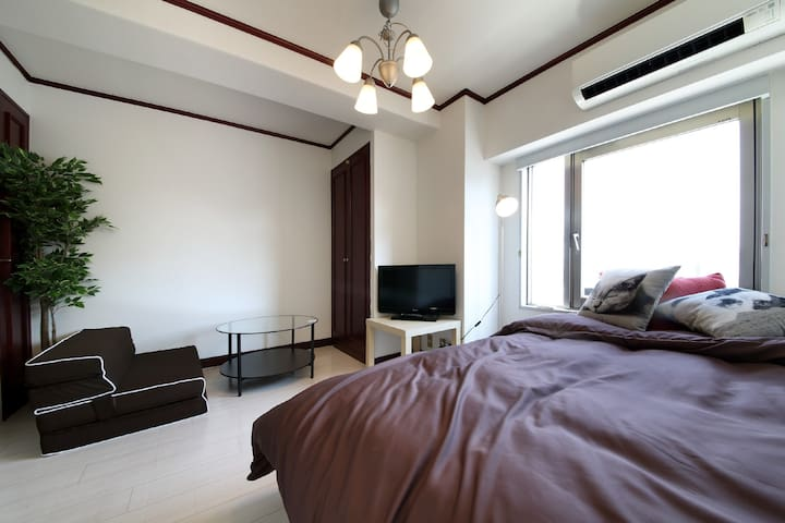 EX City Center Apt Near OsakaCastle w/WIFI