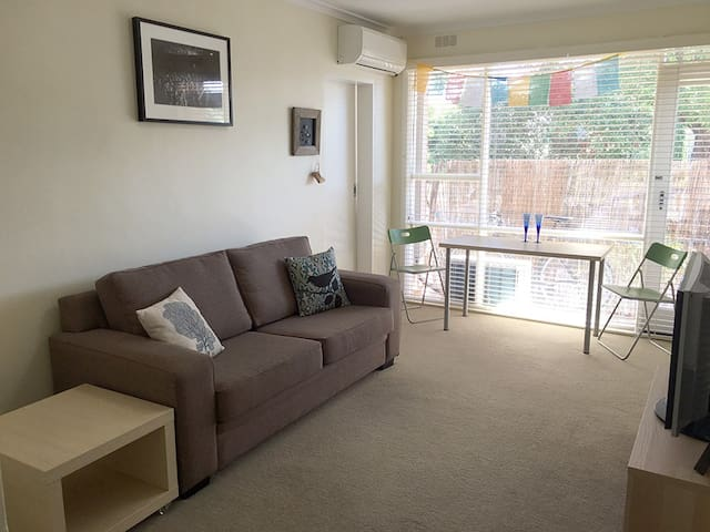 1BR Private, Sunny, Central - Caulfield South - Departamento
