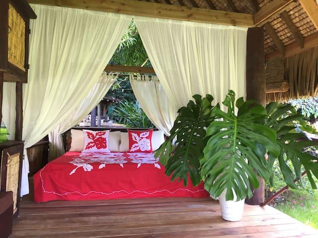 Expérience atypique en bungalow