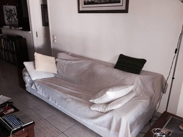 Sofa in modern apartment