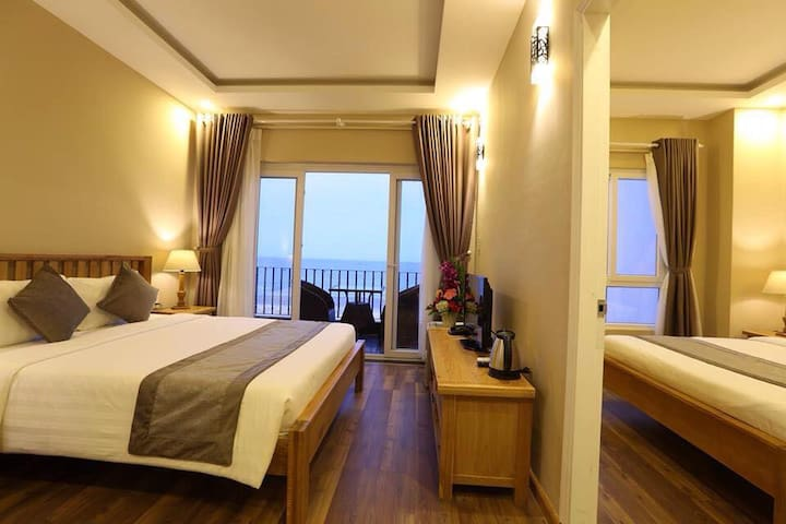 Sea view room with 2 bedrooms #2 - Da Nang - Appartement