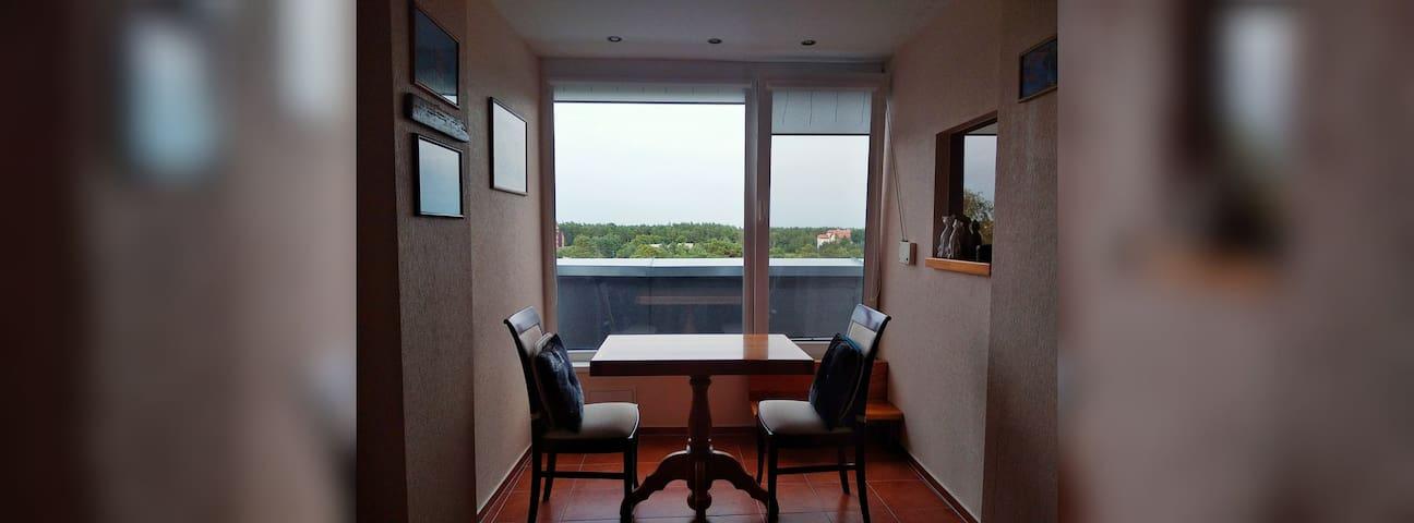 Квартира с прекрасным видом в г. Паланга