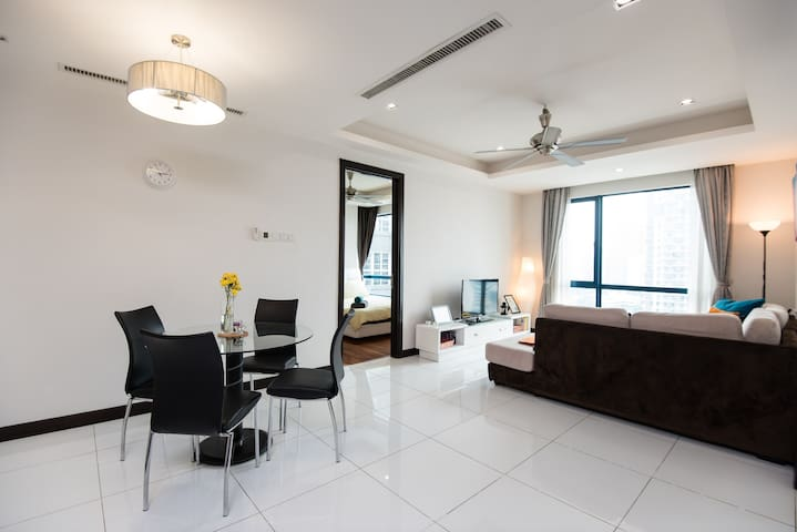 Modern & Clean Unit in City Centre - Kuala Lumpur - Apartment