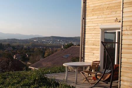 Maison bois Ch 2 - Pérignat-sur-Allier - Aarde Huis
