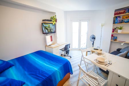 City center room with private bath - Valladolid