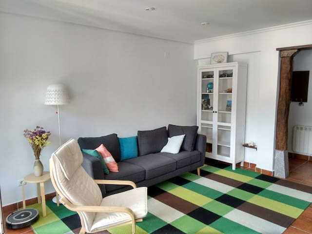 Cozy apartment (58m2) between Bilbao and Donostia
