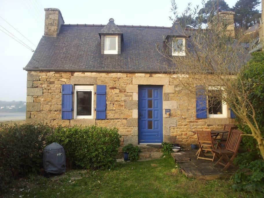 Maison de p cheur maisons louer saint michel en - Maison de pecheur bretagne ...