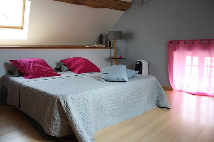 "La Charmerie ""Rose & Pampilles"" - Spoy - Bed & Breakfast"