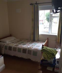 Single Bedroom - Hollyhill - Bed & Breakfast
