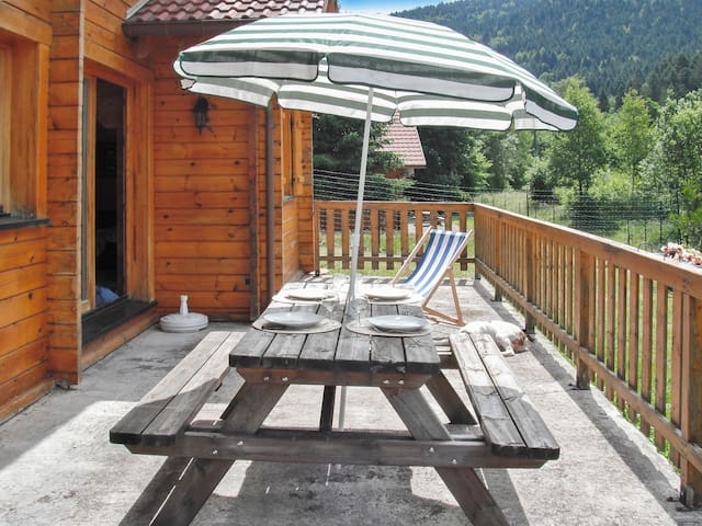 Chalet with garden and patio - La Bresse
