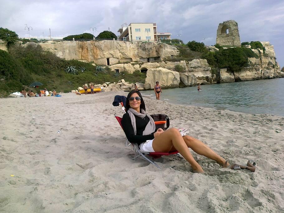 Spiaggia e baia