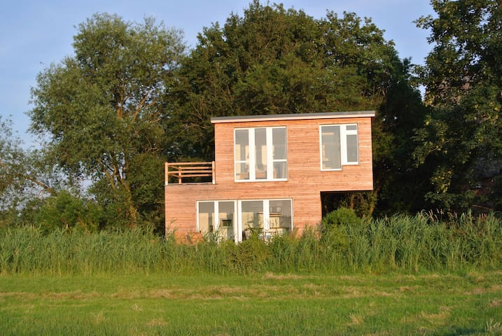 Ferienhaus Krautsand mit Sauna - Drochtersen - House