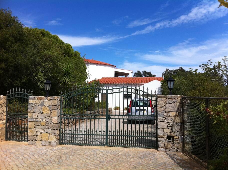 Entrance to the Casa