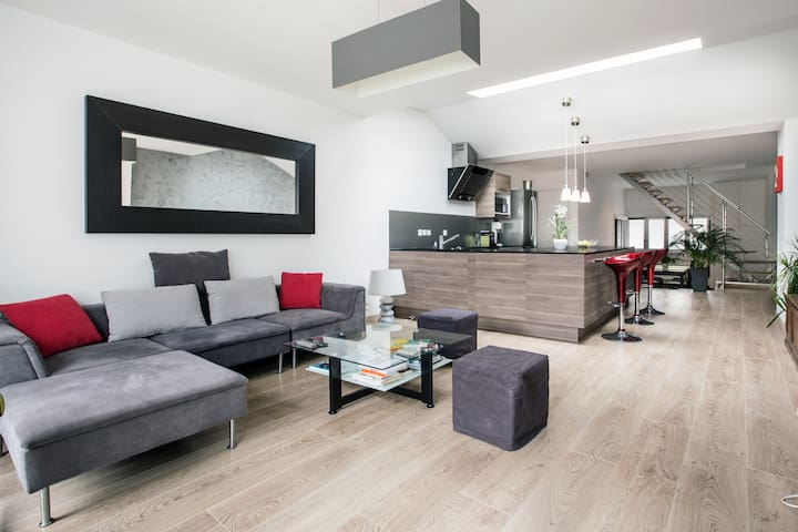Loft-Style House with Garden - Lambersart - Dom