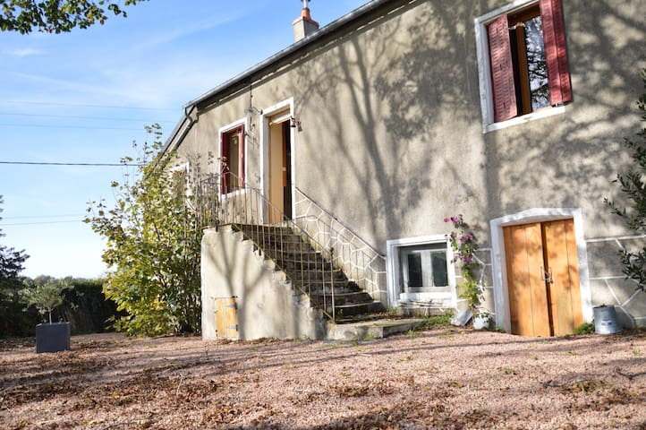 Notre bel air - Saint-Léger-de-Fougeret - Sommerhus/hytte