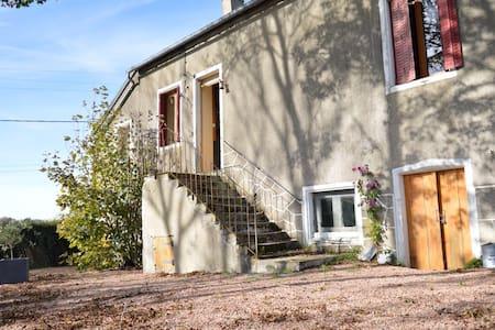 Notre bel air - Saint-Léger-de-Fougeret - Cabaña