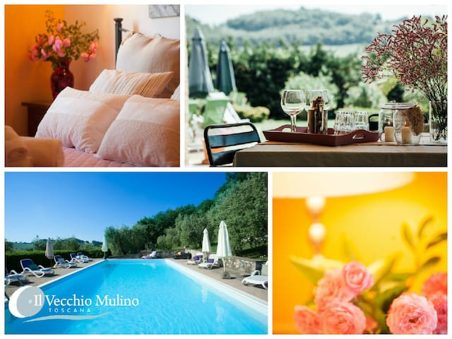 Country- chic Apt near Siena Nature and Comfort
