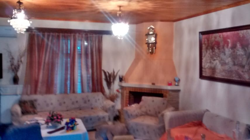 wooden roof appartment (80 sq.m.) - Ditikos Tomeas Athinon - Lejlighed