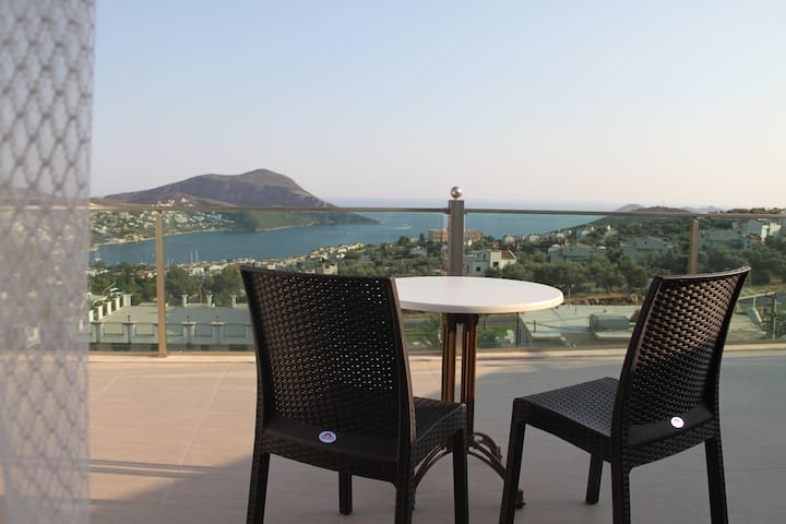 Orsa Apartments with fantastic view - Kalkan - Wohnung