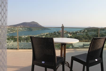 Orsa Apartments with fantastic view - Kalkan