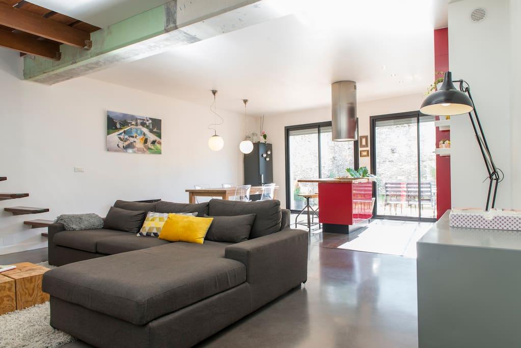 Loft 100m avec terrasse et jardin apartments for rent Loft et terrasse