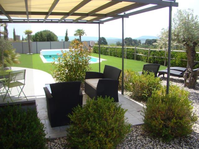 Appartement dans villa au cœur du pays Cathare. - Malviès - Apartament
