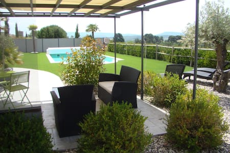 Appartement dans villa au cœur du pays Cathare. - Malviès - Apartemen