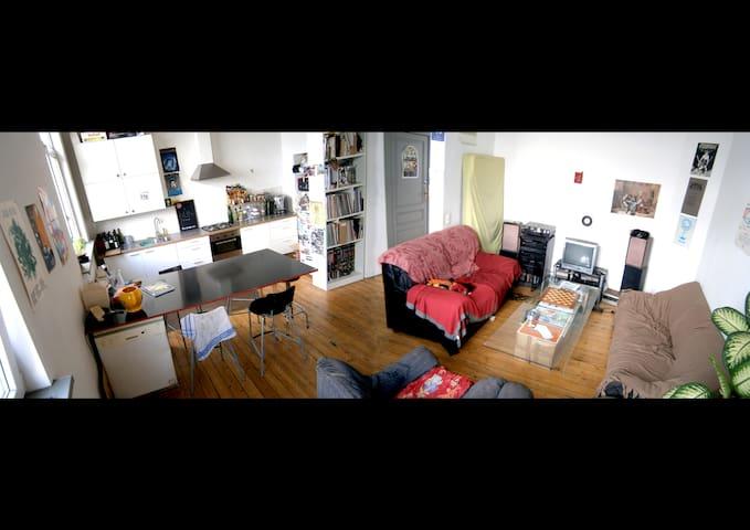 Bel appartement 3 chambres - 125 m2 - Schaerbeek - Flat