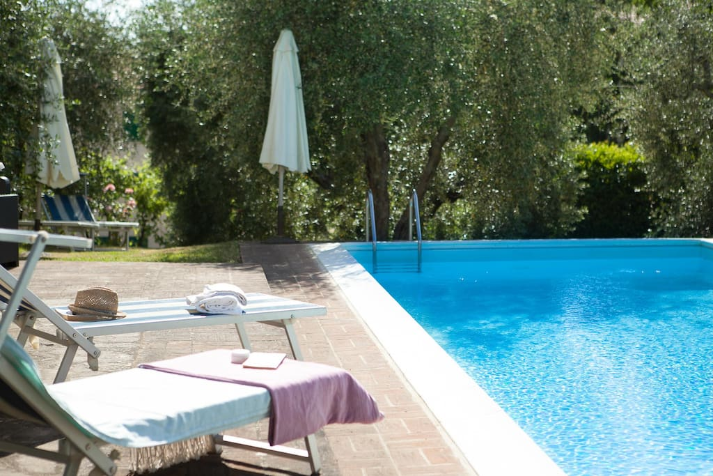 Private and exclusive pool Villa Fiorenzani