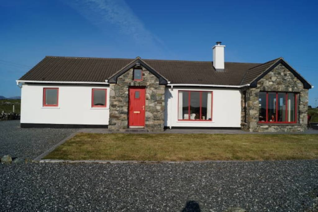 Front of Ard Cairn Cottage
