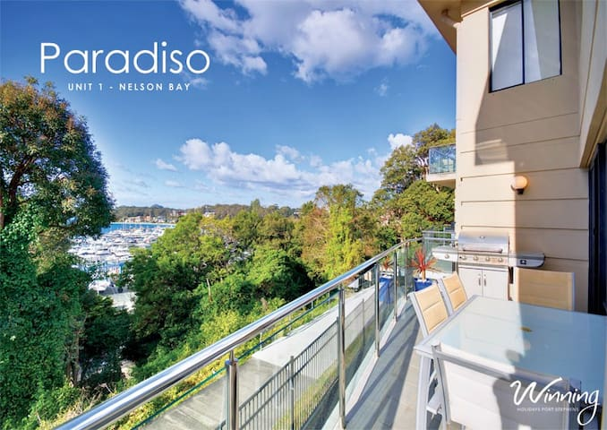 Spectacular Marina Views - Nelson Bay - Byt