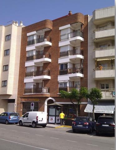 1 bedroom apt in the centertown - Hospitalet de l'Infant - Apartament
