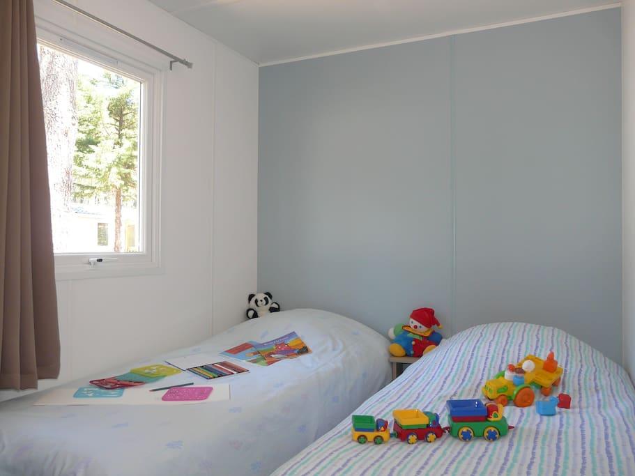 La chambre des enfants.