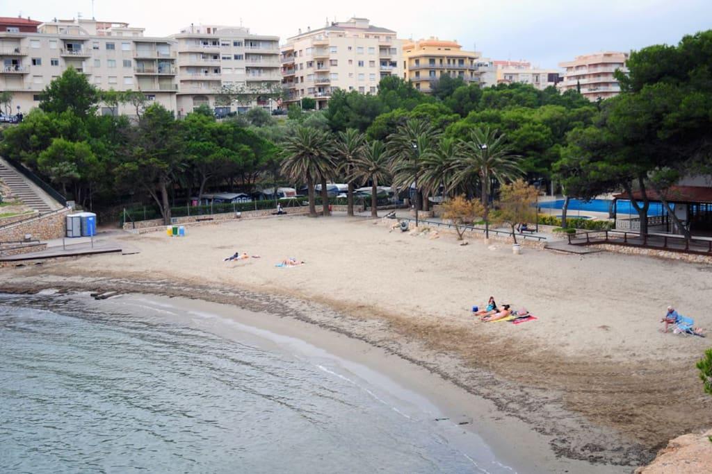 Apartamento playa cala pixavaques departamentos en for Pisos alquiler ametlla de mar