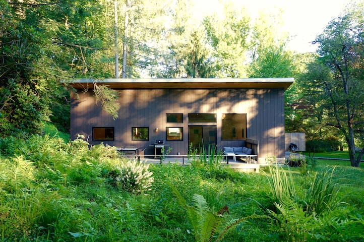 Eco cottage, spectacular setting - Rosendale - Hus