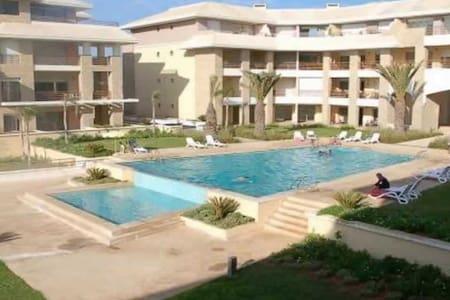 Appartement au bord de la mer - Salé  - Apartamento