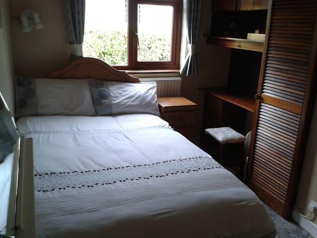Single room with large bed