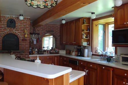 Historic Farmhouse with Waterfalls - Hillsdale - House
