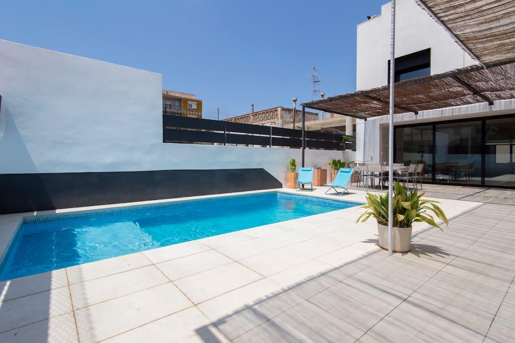 Casa con piscina y parking maisons organiques louer for Maison palma de majorque