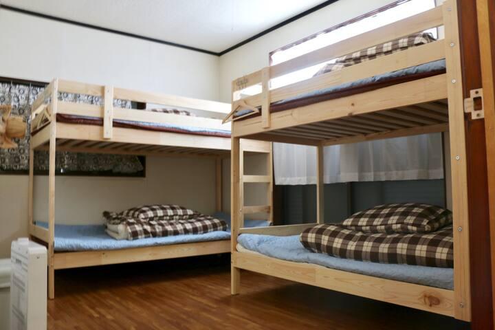유후인노타케 4인실 (대나무숲 노천가능)