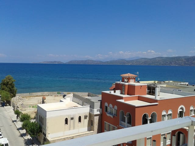 Comfortable apartment - Sea View - Kórinthos - Appartement